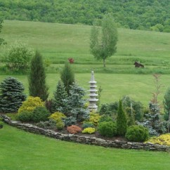 Ideas For A Bare Living Room Wall Packages Under 1000 Conifer Garden - Danby Eclectic Landscape Boston ...