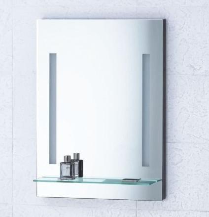Mirror with Integrated Lighting  Livorno  Modern