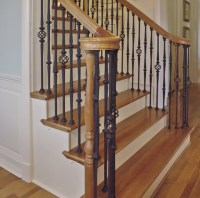 Custom Iron Stair Balusters - Traditional - Staircase - by ...