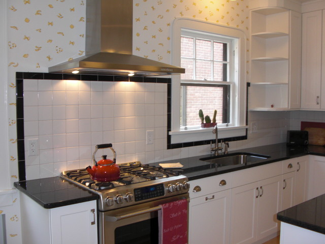 brookhaven kitchen cabinets how to arrange pots and pans in 1930s art deco - eclectic new york ...
