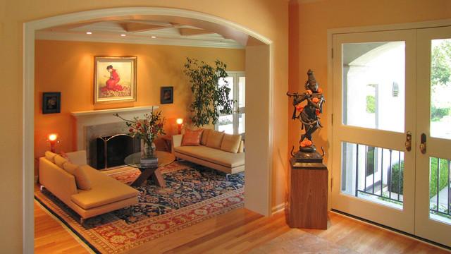 Cultural India Meets Modern - Eclectic - Living Room - San ...