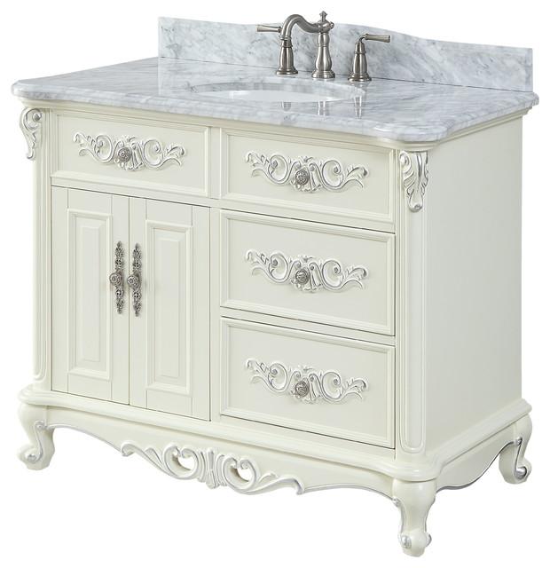42 verondia antique beige bathroom vanity
