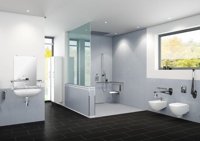 Ein barrierefreies Bad planen  Modern  Badezimmer  Hamburg  von MachDeinBad GmbH