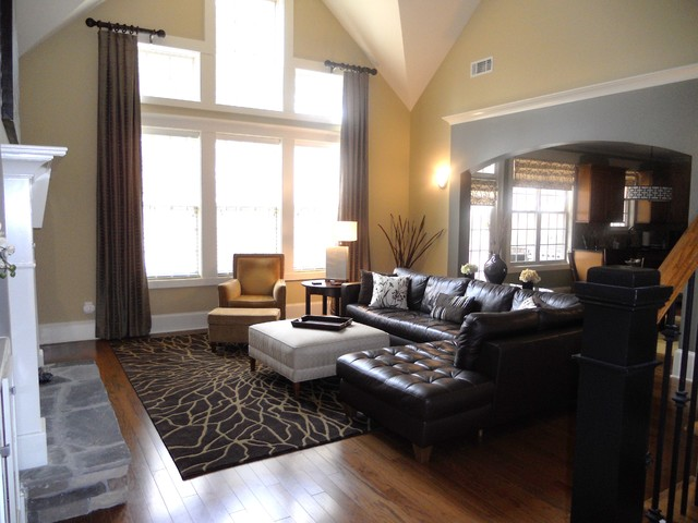 Modern but warm  Modern  Family Room  Chicago