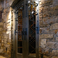 Wrought Iron Pendant Lights Kitchen Design For Small Space Wine Cellar Door Grill And Hardware - Contemporary ...