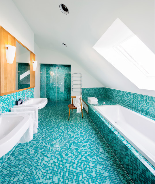 Einfamilienhaus Franken  Badezimmer