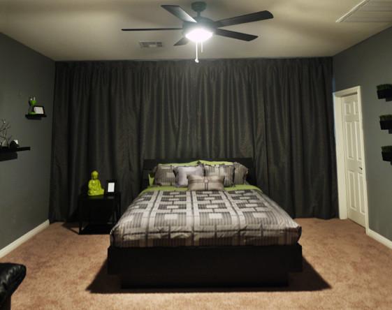 bachelor bedroom design ideas vintage Modern Bachelor's Room - Modern - Bedroom - Las Vegas - by DENIZEN DESIGN