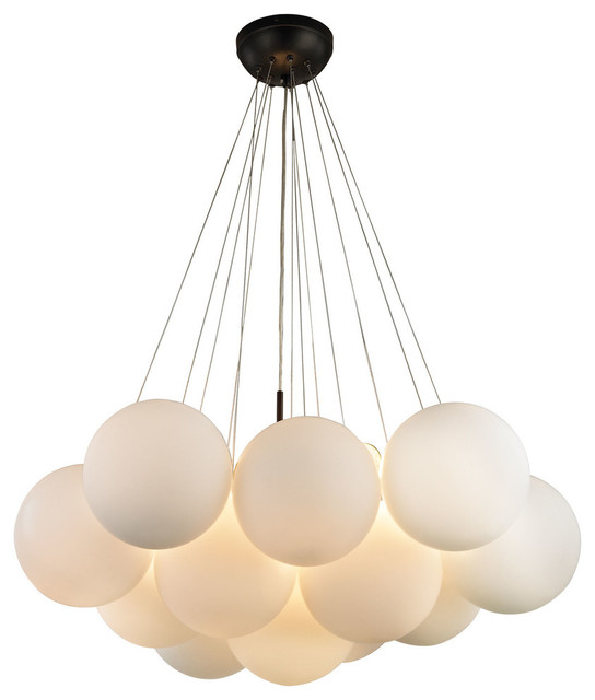 Dimond Lighting Cielo 3 Light Chandelier Oil Rubbed Bronze Contemporary Chandeliers
