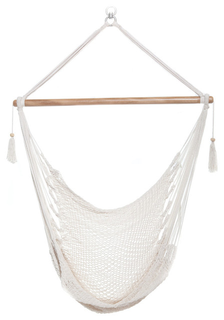 hanging chair swing height after hip replacement white hammock contemporary hammocks and chairs by mission