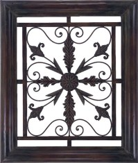 Metal Scroll Frame - Traditional - Wall Sculptures - by ...