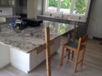 Granite island countertop overhang - HELP!
