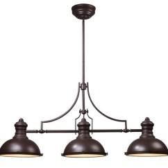 Oil Rubbed Bronze Kitchen Island Lighting Amazon 3 Light Pendant Foyer Dining Room Chandelier Traditional By Lightingworld