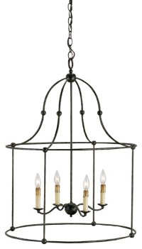 Fitzjames Lantern - Traditional - Pendant Lighting - by ...