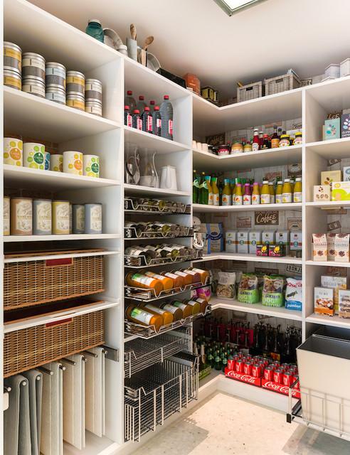 Walkin Pantry  Modern  Kitchen  Los Angeles  by