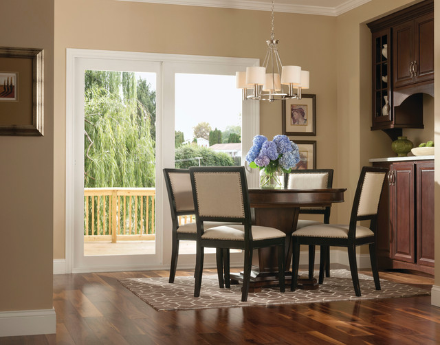 Patio Doors  Transitional  Dining Room  other metro