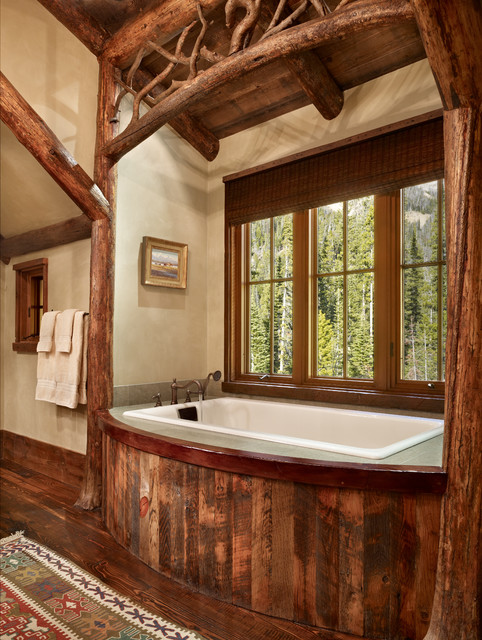 Mountain Retreat  Rustic  Bathroom  Other  by