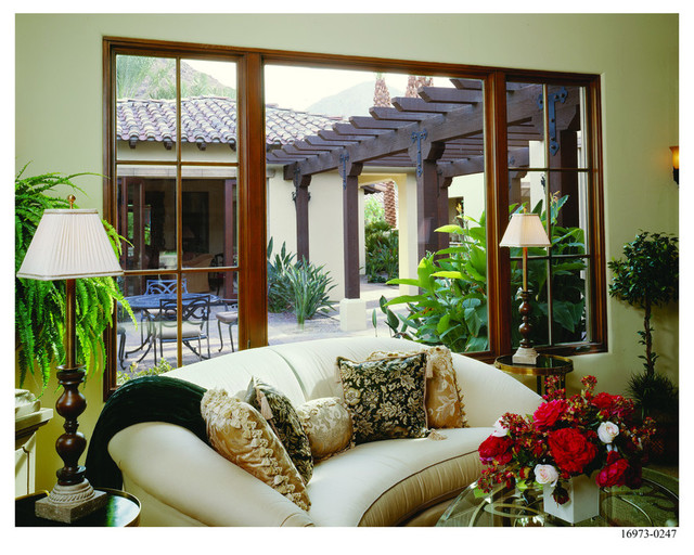 Spanish Colonial Home Style  Mediterranean  Living Room  Minneapolis  by ANDERSEN WINDOWS
