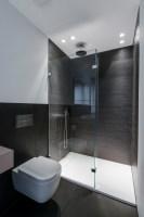 Modernes Bad in anthrazit   Contemporary   Bathroom ...