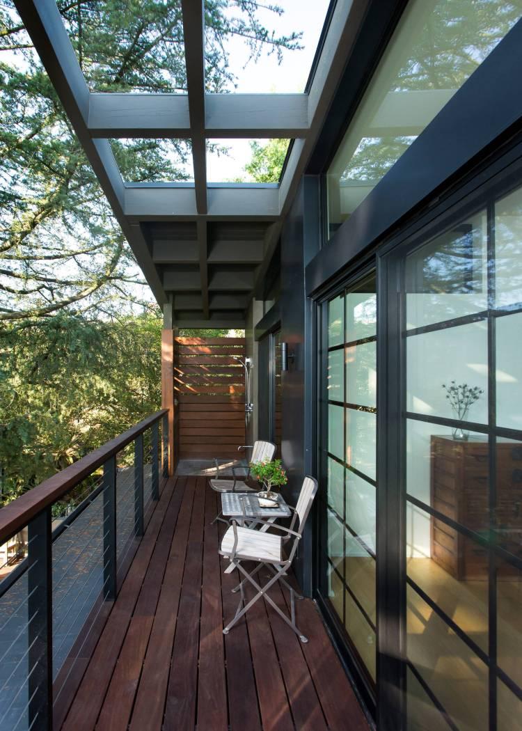 75 Beautiful Black Balcony Pictures Ideas January 2021 Houzz