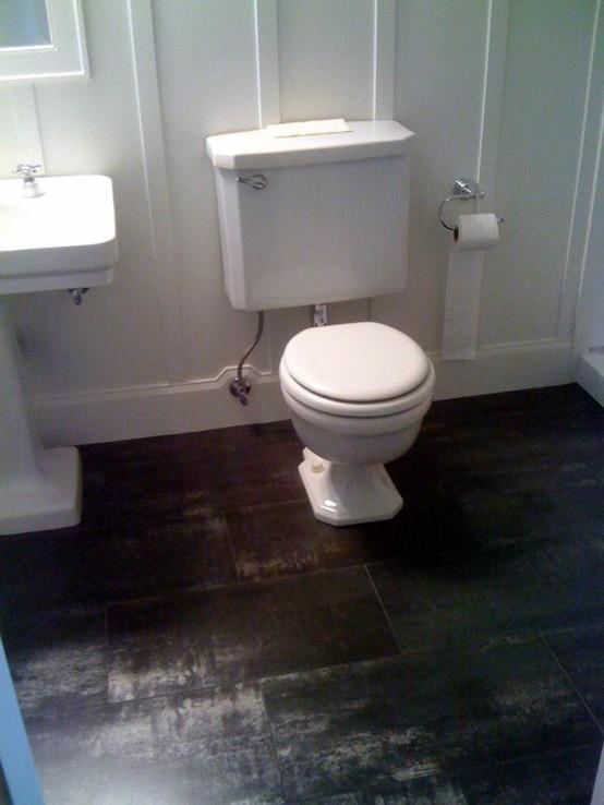 porcelain tile traditional bathroom