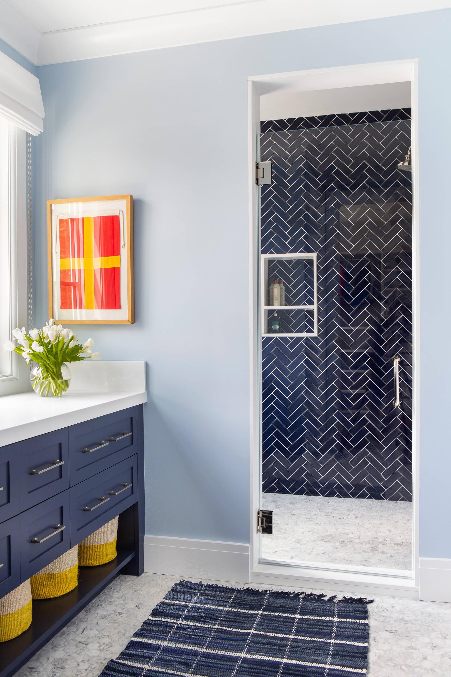 blue tile bathroom pictures ideas