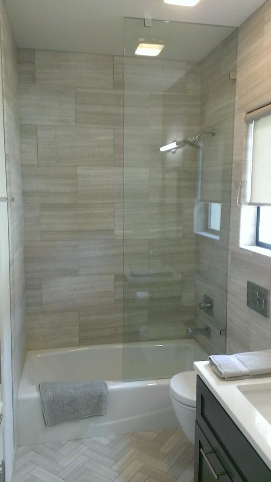 24 valentino gray marble walls floor