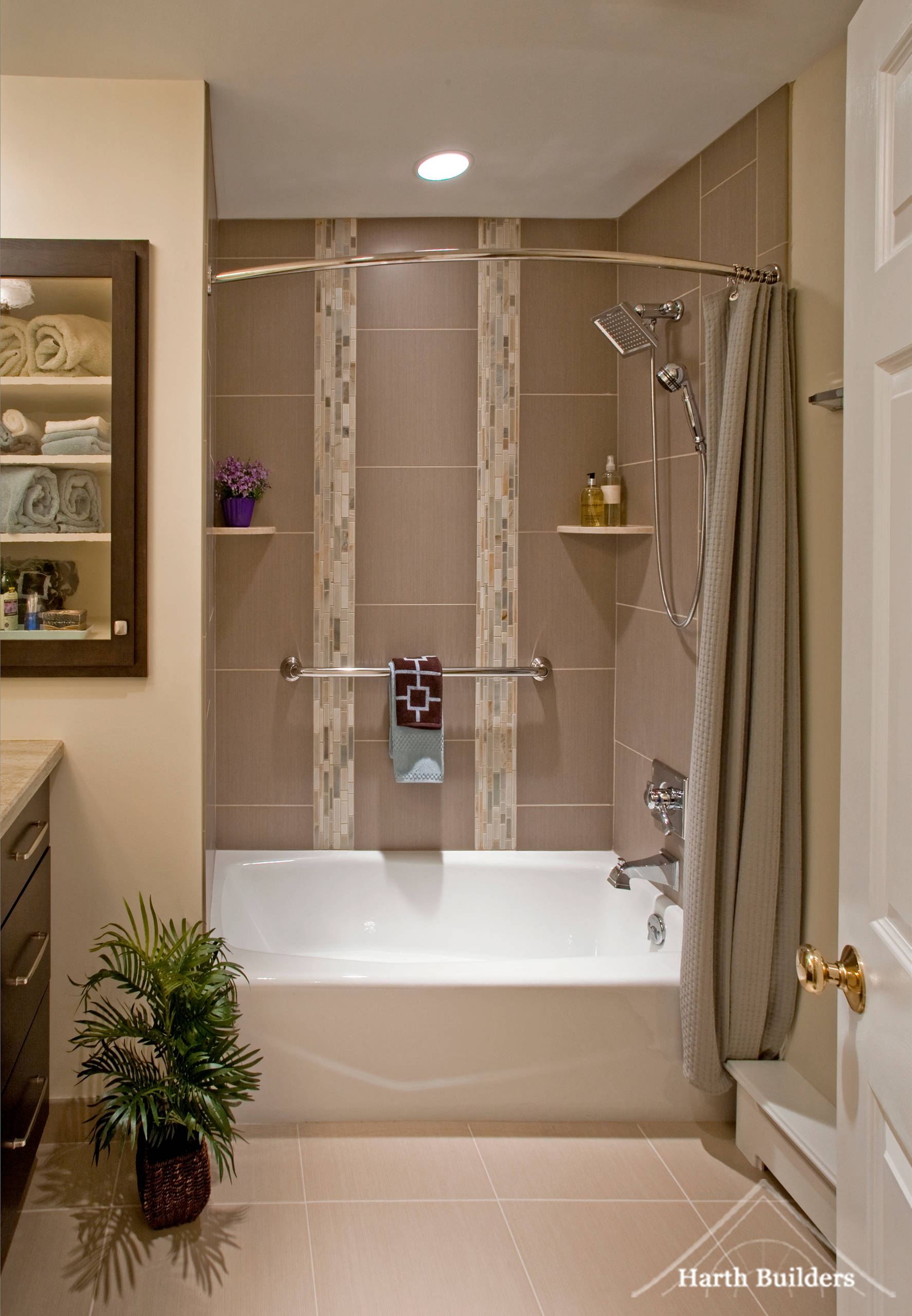 curved shower rods houzz