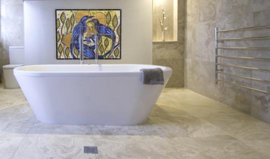 bathroom tile mural houzz