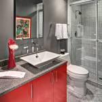 75 Beautiful Red Marble Floor Bathroom Pictures Ideas December 2020 Houzz