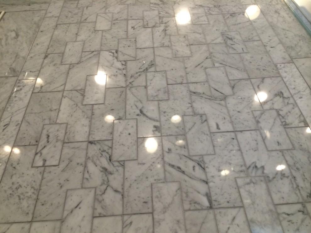custom laser cut marble tile