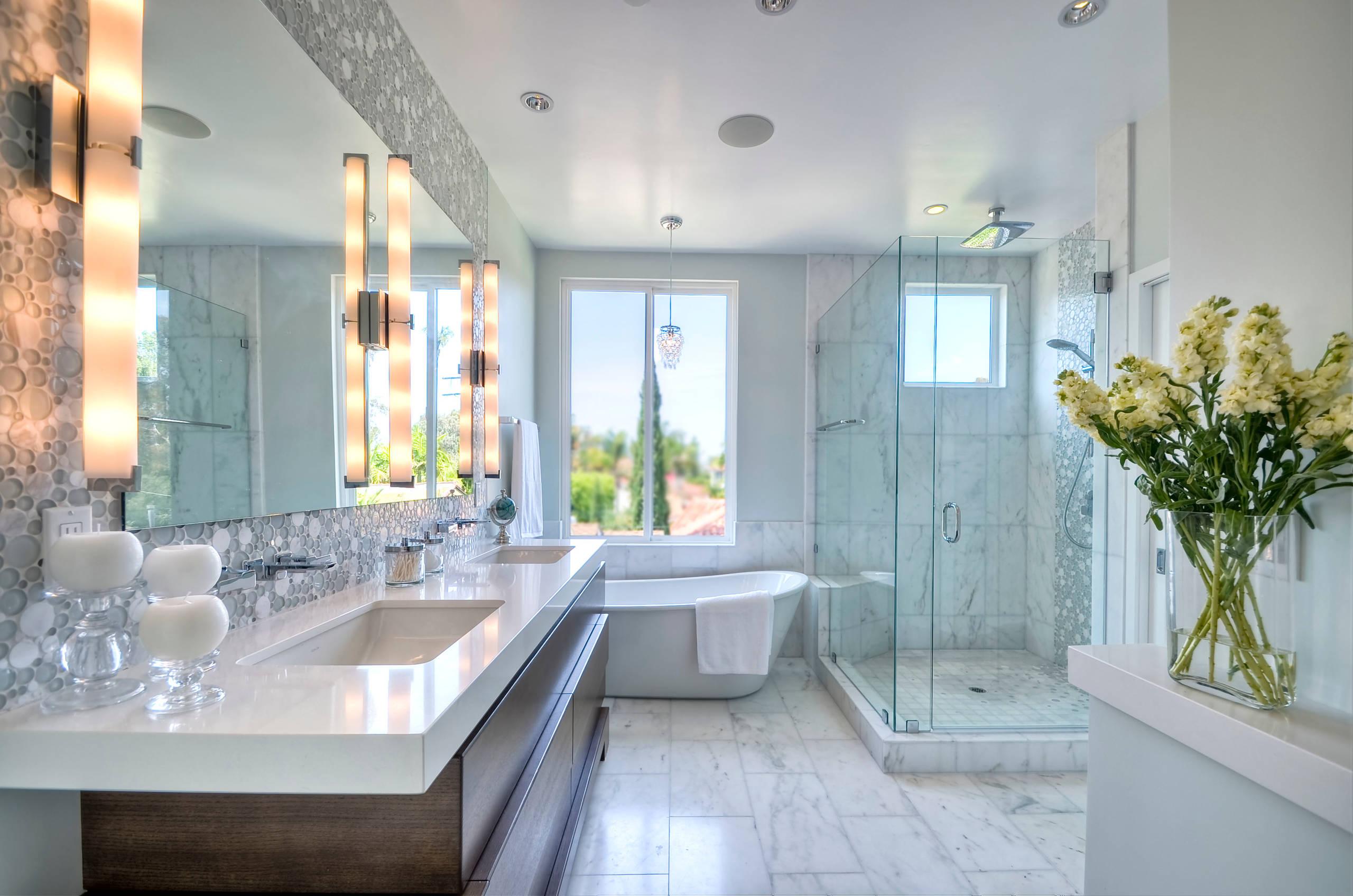 master bathroom lighting houzz