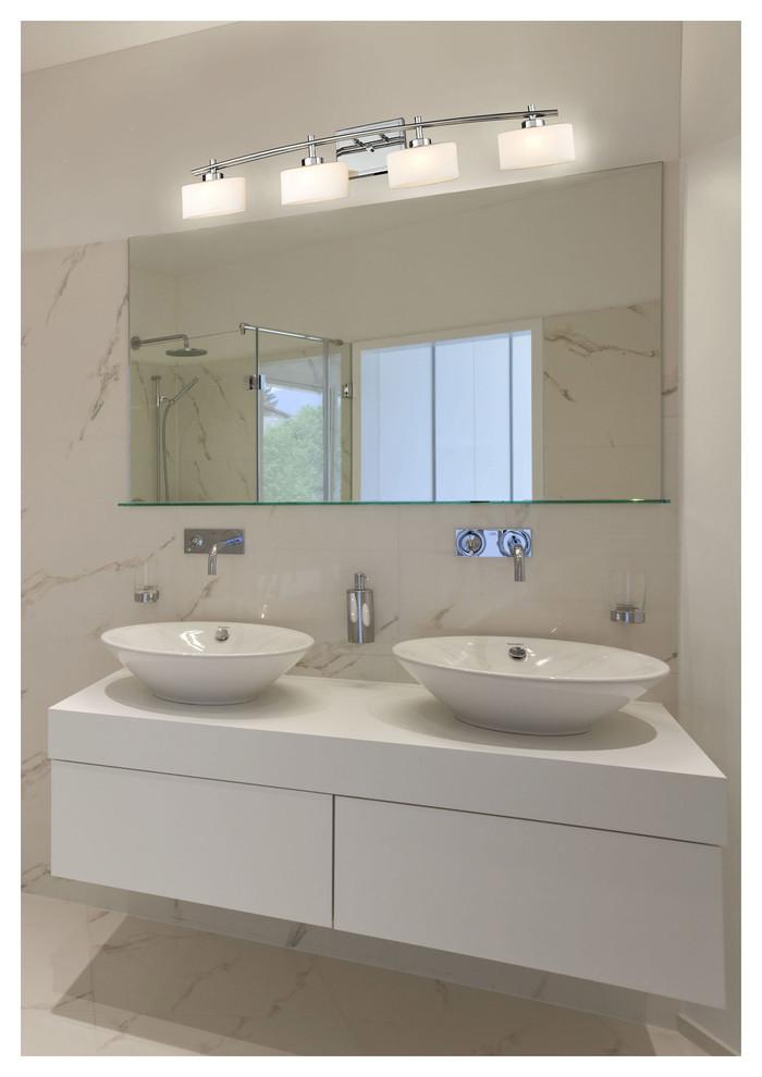 contemporary bathroom lighting image