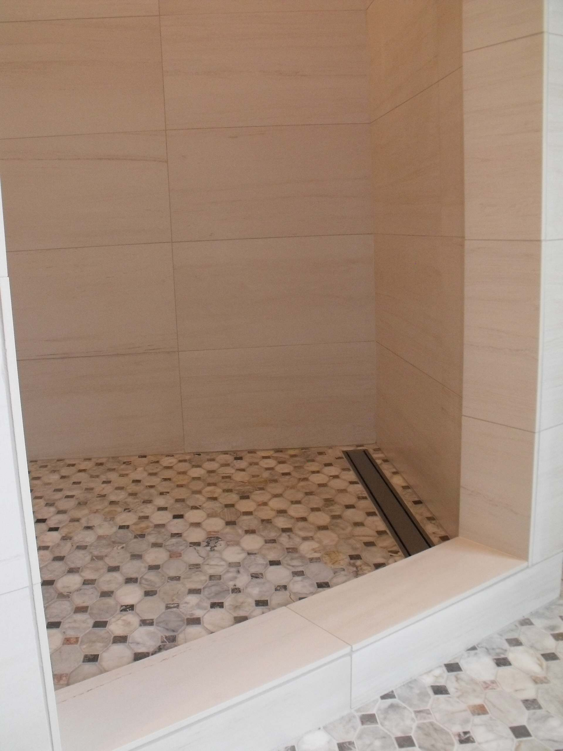 octagon marble tile houzz