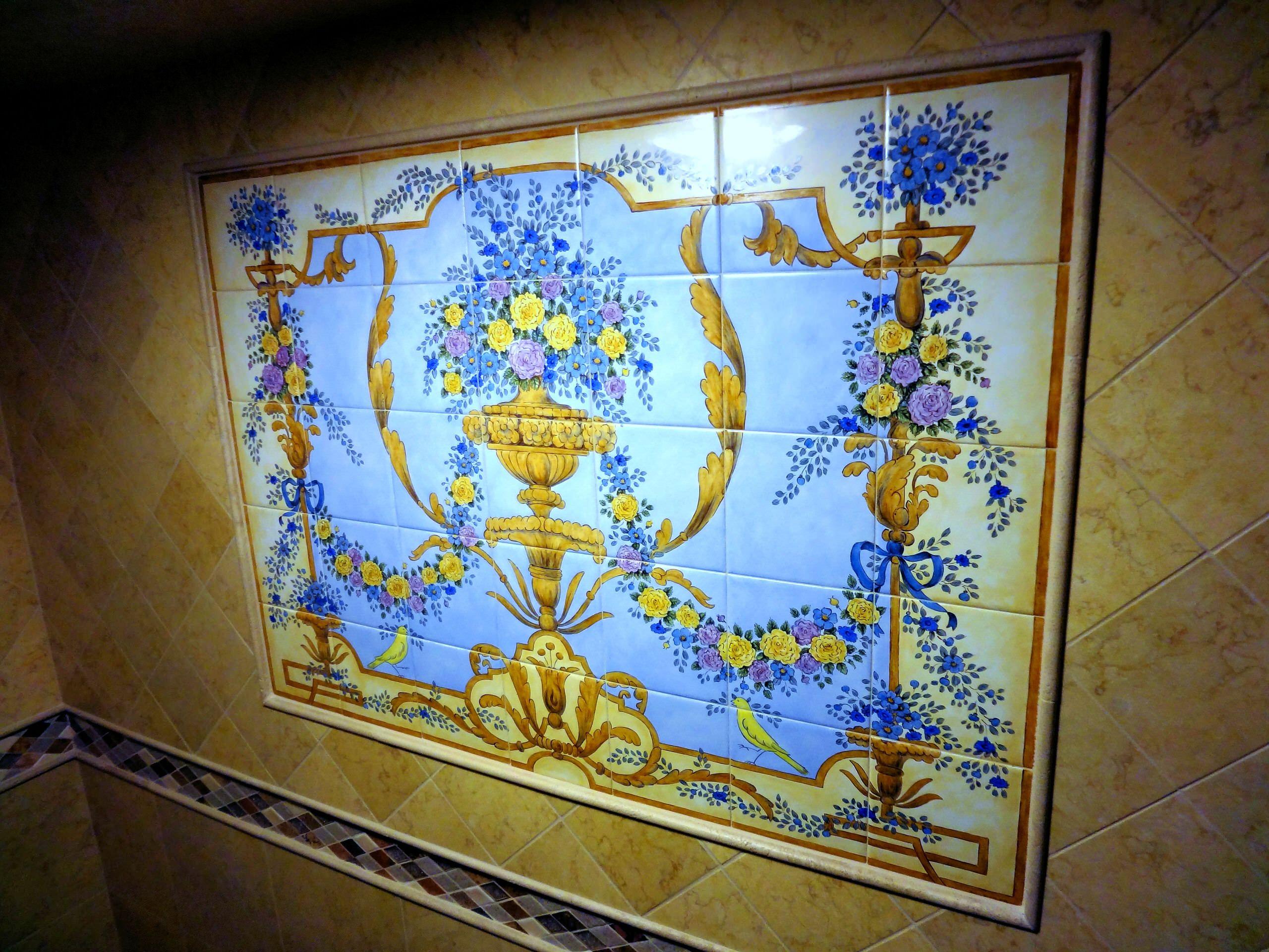 shower tile murals houzz