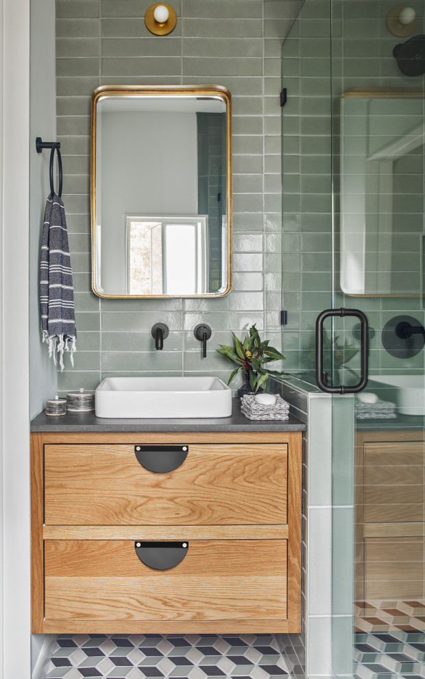 jessica davis patterned bathroom floor