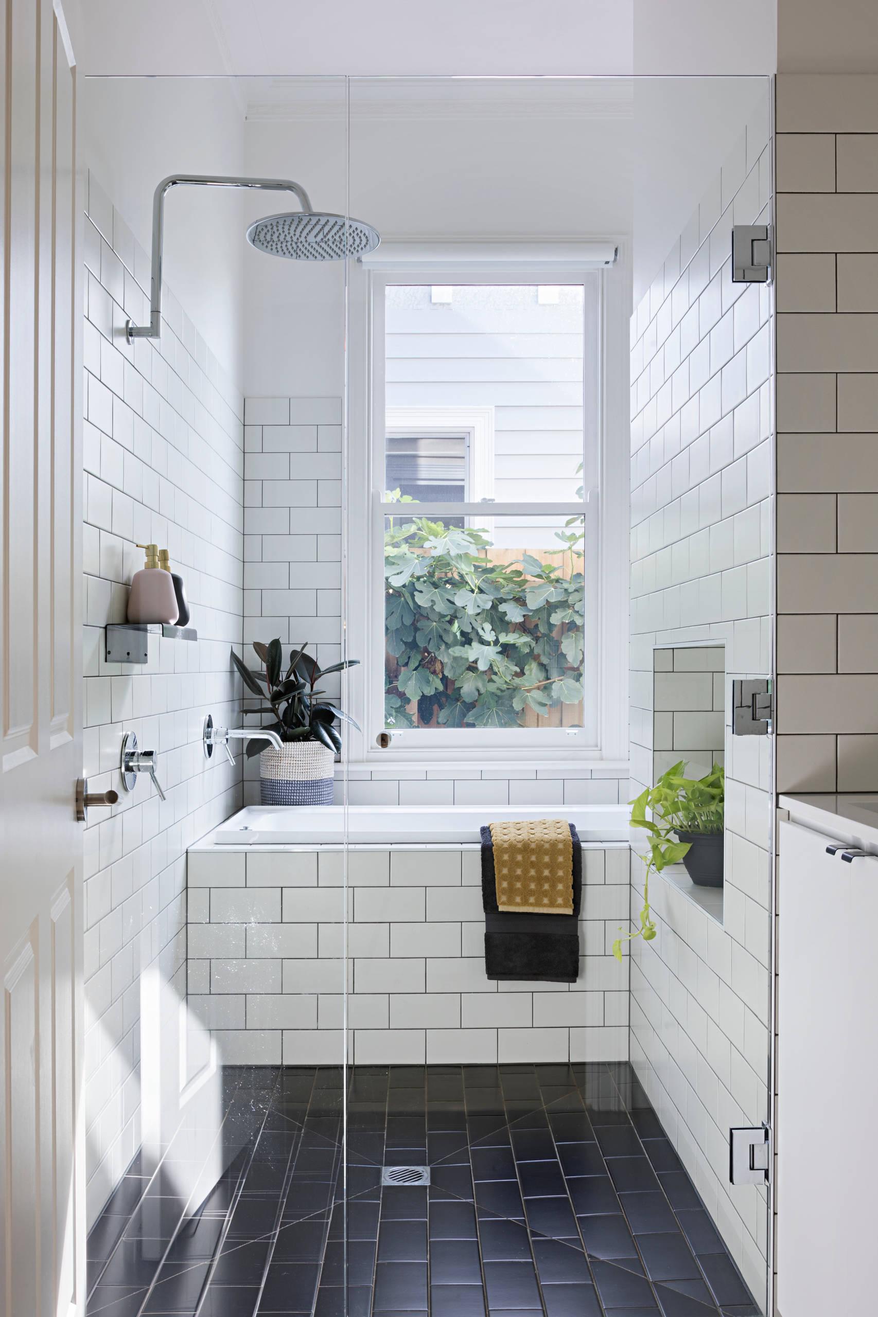 subway tile drop in bathtub pictures