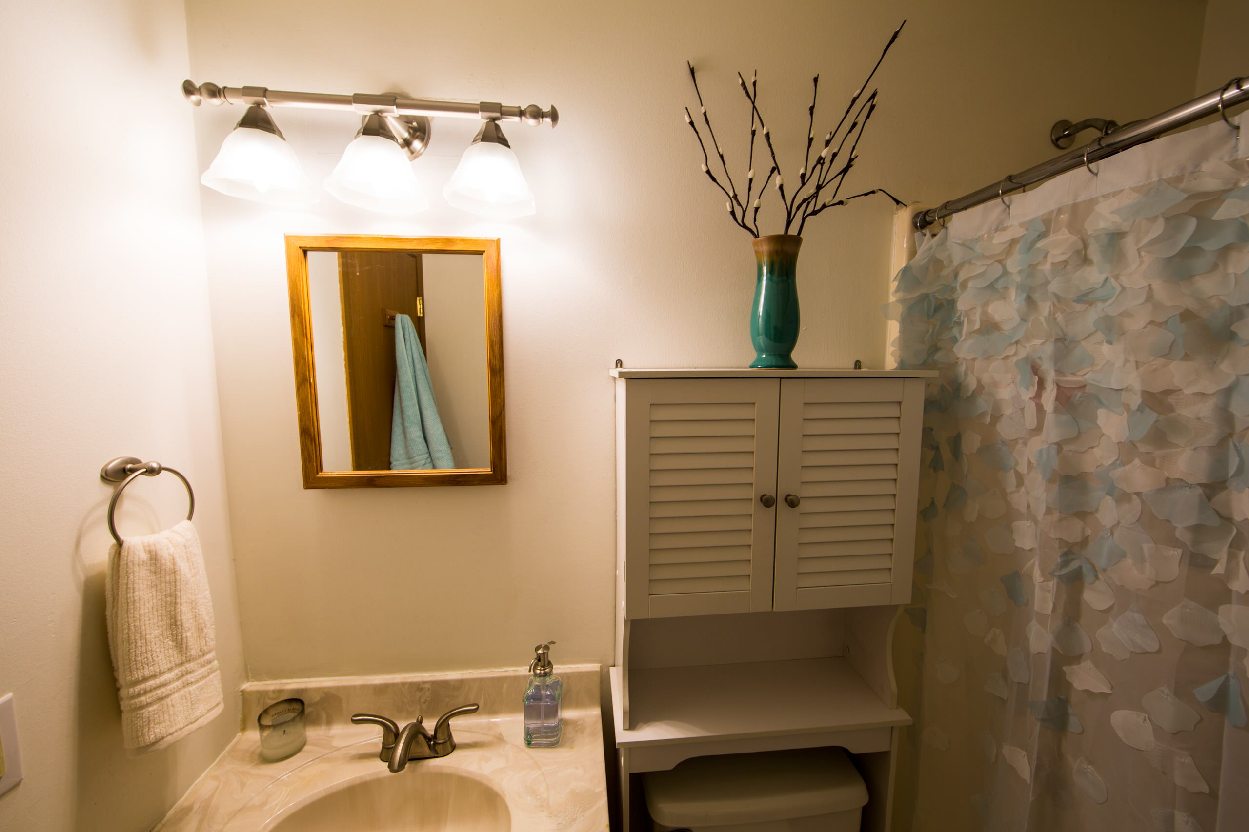 led bathroom vanity lighting beach