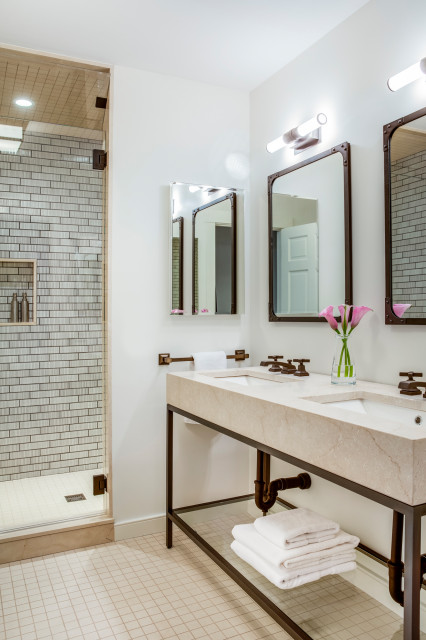 how to know if an open bathroom vanity