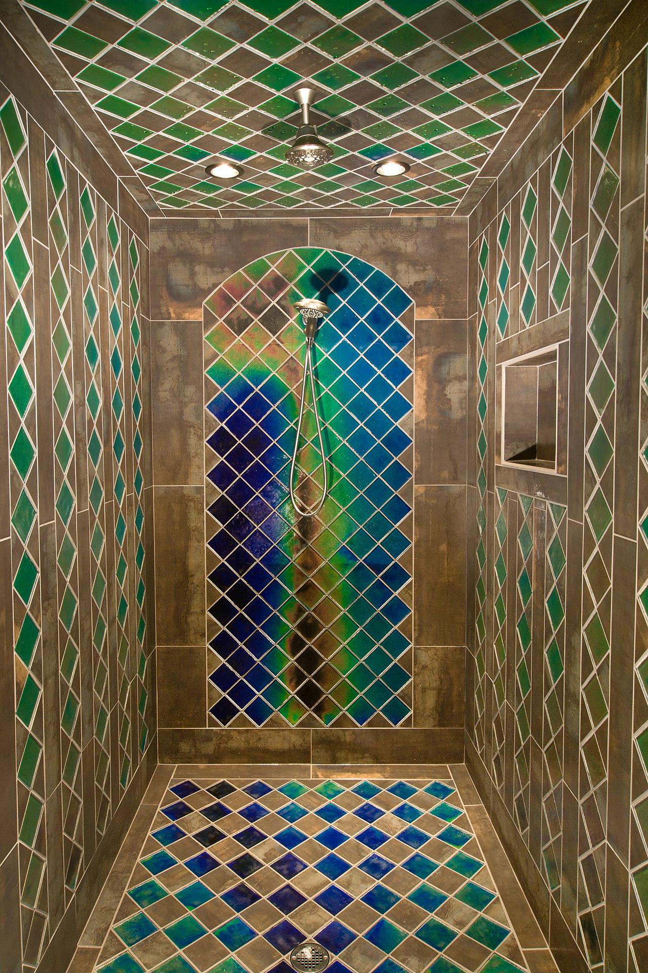 unique shower tile houzz