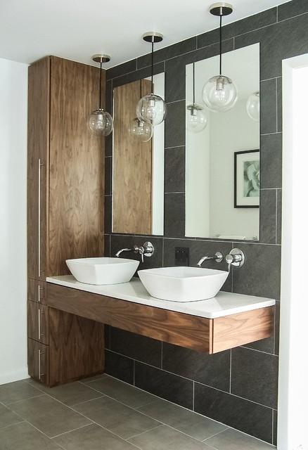 minimal modern spa bathroom modern
