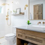 75 Beautiful Bathroom With Light Wood Cabinets Pictures Ideas February 2021 Houzz