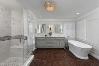 salle de bain avec du lambris photos