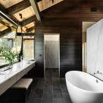 75 Beautiful Marble Tile Slate Floor Bathroom Pictures Ideas December 2020 Houzz