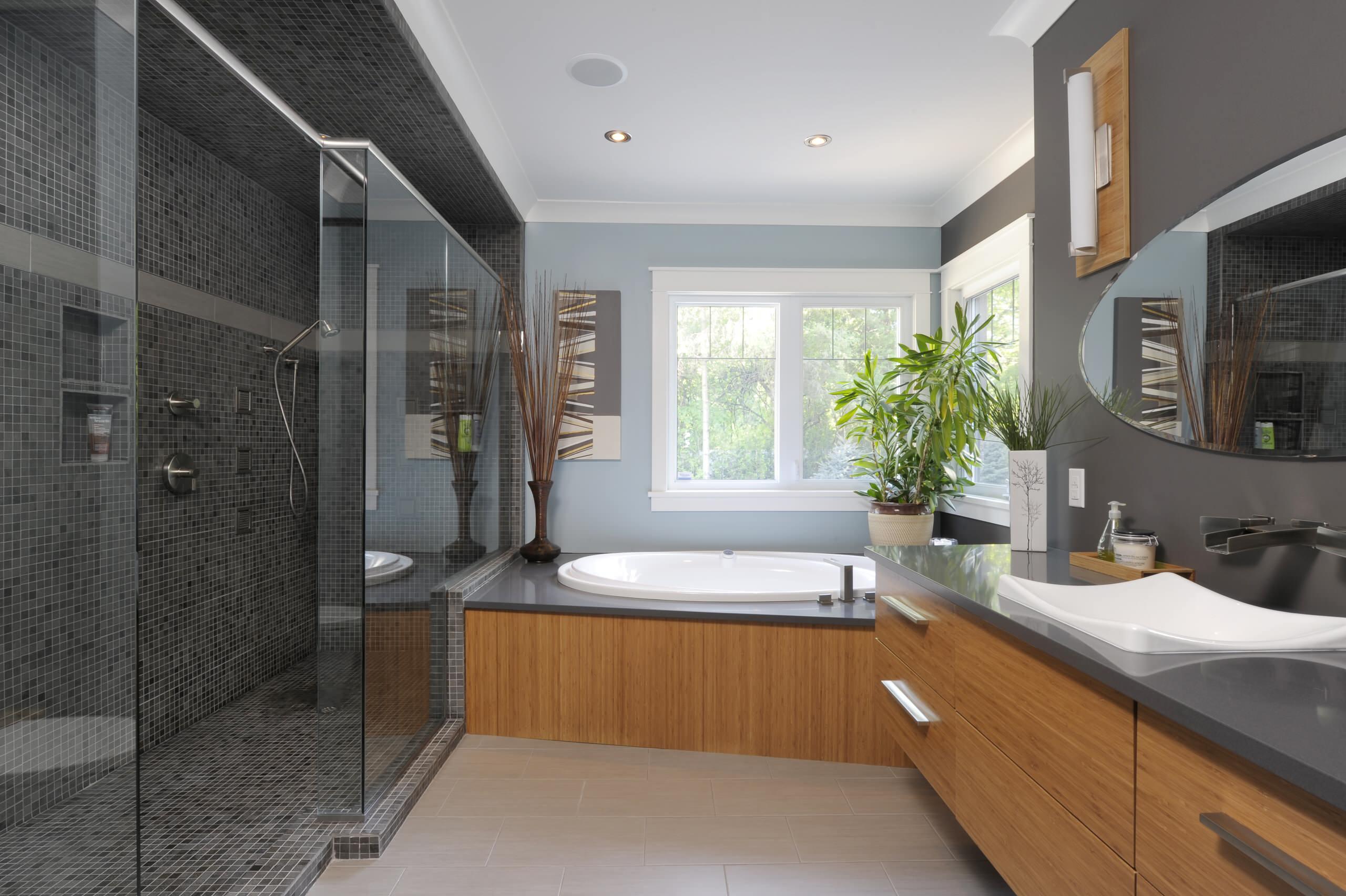 charcoal grey bathroom ideas photos