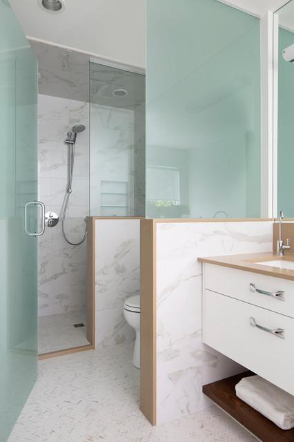 Salle De Bains Avec Wc Comment Separer Les Toilettes Dans La Salle De Bains