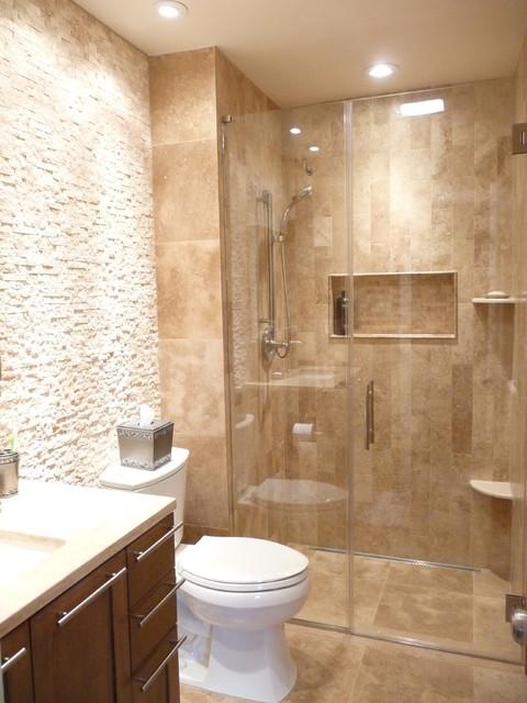 spa bathroom remodel contemporary
