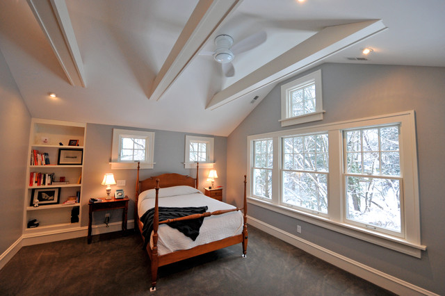 2nd Floor Residential Addition Master Bedroom Transitional Bedroom Cleveland By R B Schwarz Inc Houzz Uk