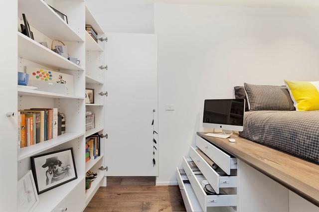 """Arredare case piccole, 40 o 50 metri quadri non sono solo i """"cubicoli"""" 10 Soluzioni Da Copiare Se Avete Una Camera Da Letto Piccola Piccola"""