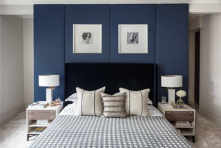 Bedroom Feature Wall Ideas And Photos Houzz