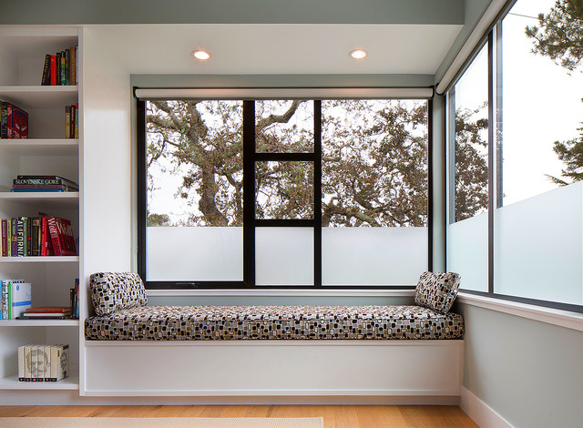 Master Bedroom Window Seat Modern Bedroom San Francisco By Madson Design Houzz Ie